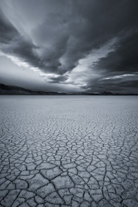 Empty Lake Bed, (from iDesign iPhone Wallpapers)
