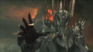 Oh, hey Sauron, how are y--OH, GOD! ((c) New Line Cinema and Wingnut Studios)